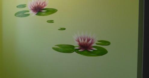 Fresque murale et trompe l'oeil